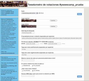 Administrador actual del Tweetometro (en pruebas como el resto :)